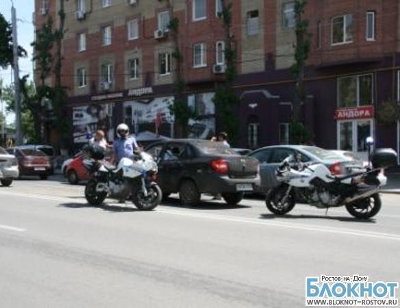 В Ростове сотрудники ГИБДД будут бороться с пробками на мотоциклах