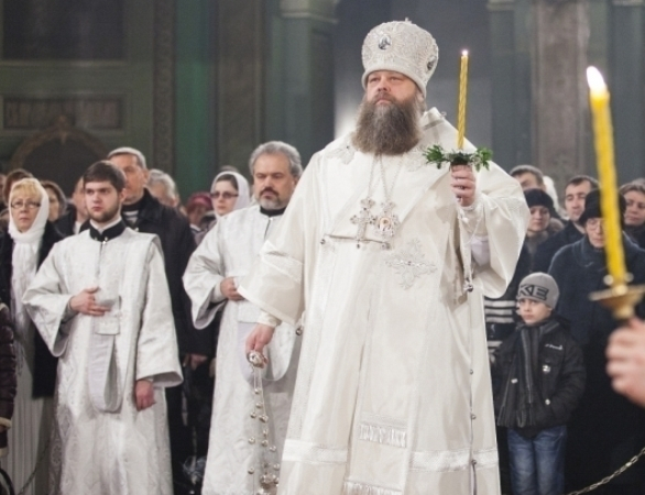 Православные ростовчане празднуют Рождество Христово