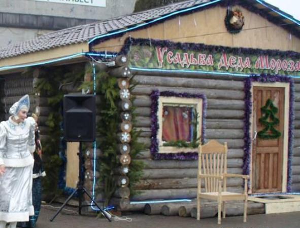 В Ростовской области Дед Мороз выставил на продажу собственную усадьбу