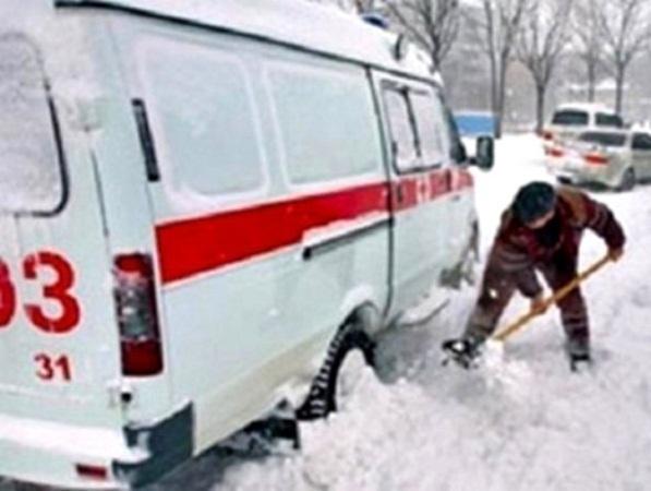 В Ростове машины скорой помощи не смогли вовремя попасть к больным