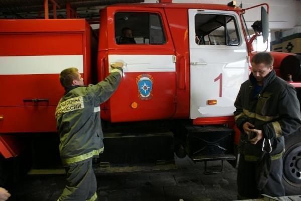 ВРостовской области назаправке произошел пожар