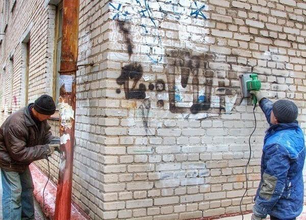 Перед эстафетой Олимпийского огня Ростов очистят от рекламы, граффити и припаркованных автомобилей