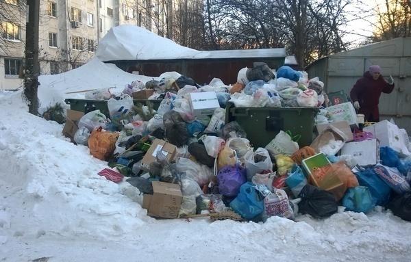 Ростов-на-Дону утопает в свалках мусора