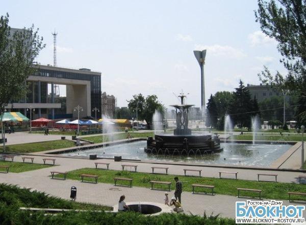 В Ростове фонтан на аллее Роз заработает в День города