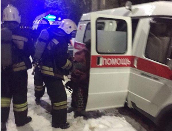 Женщина серьезно пострадала во время пожара в Ростове-на-Дону