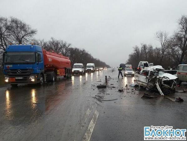 Три человека погибли, пятеро пострадали в ДТП на трассе М4 «Дон» под Ростовом