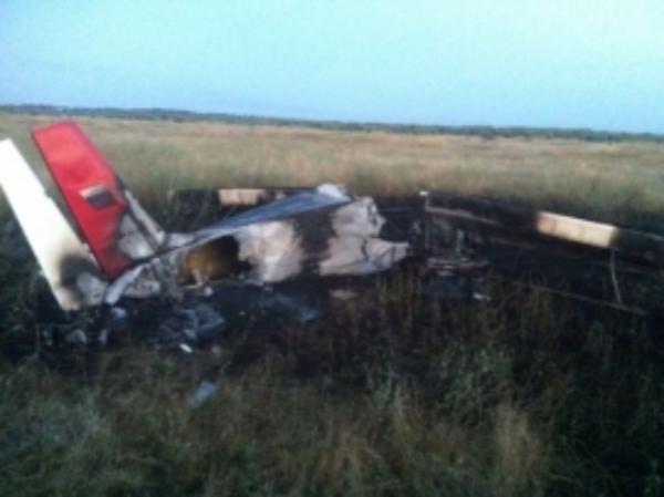 ВРостовской областиРФ потерпел крушение легкомоторный самолет