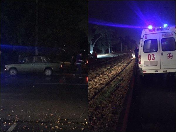 Отечественная легковушка насмерть сбила перебегающего дорогу мужчину в Ростовской области