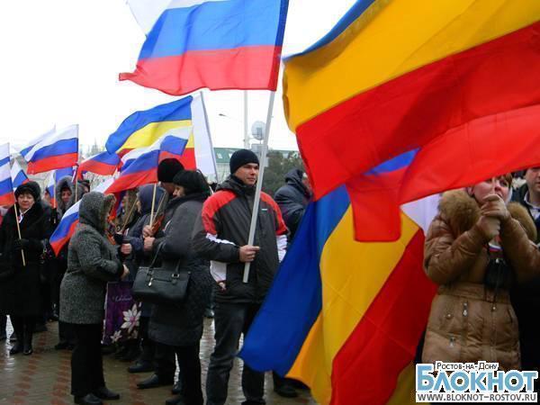 Ростовских студентов обязали участвовать в митинге в защиту русскоязычного населения Крыма