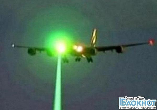 Экипаж рейса Москва-Ростов-на-Дону пытались ослепить лазером