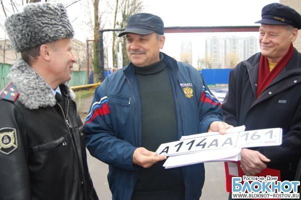 В Ростовской области закончена выдача номеров серии ААА, полицейские больше не заказывают «красивые» госзнаки