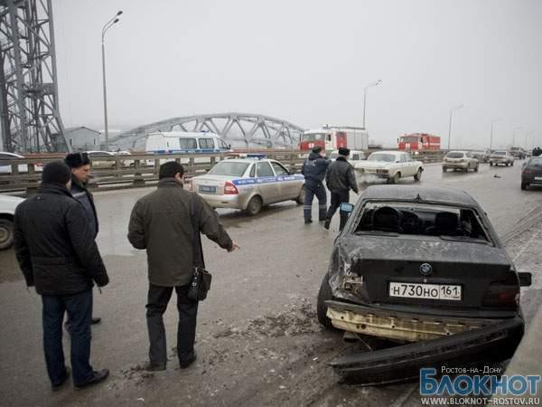 В Ростове столкнулись более 20 машин, 2 маршрутки