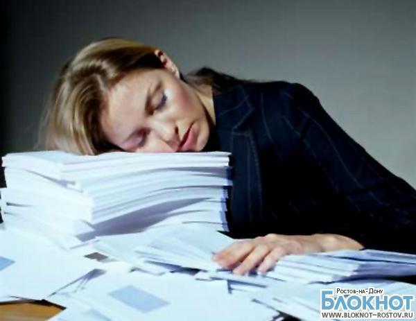 Каждый второй ростовчанин даже во сне думает о работе