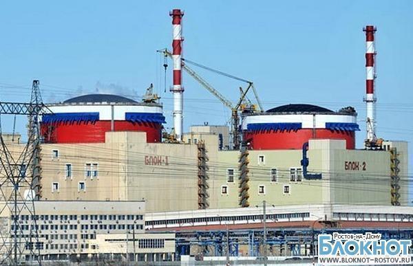 Третий блок Ростовской АЭС запустят в декабре 2014 года