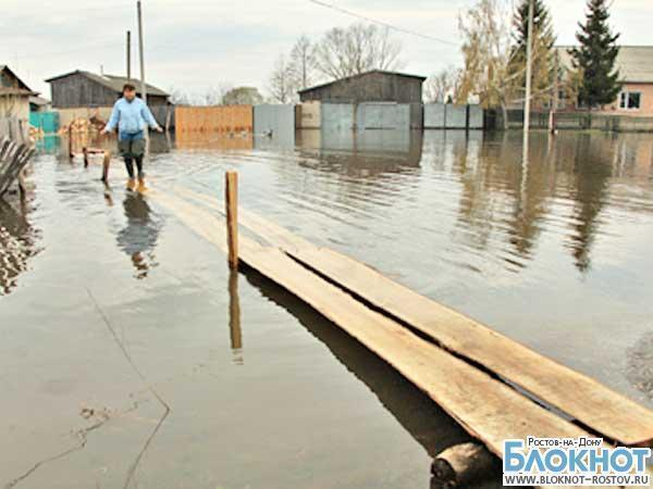 В Ростовской области остаются частично подтопленными 4 домовладения