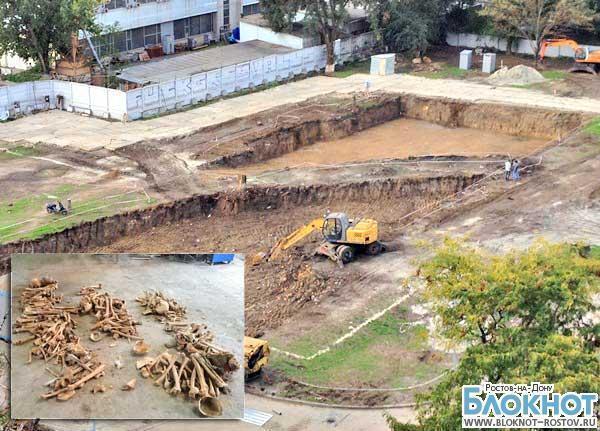 Стройка на костях: на месте возведения здания ростовской прокуратуры найдены человеческие останки