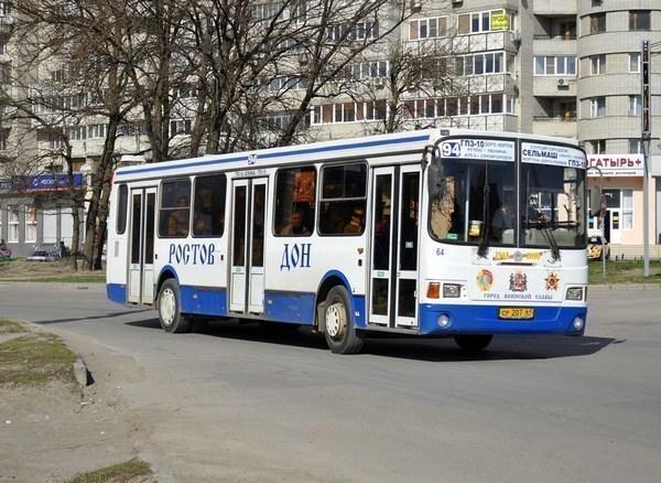 В Ростове по вечерам и в выходные транспортные компании будут заменять автобусы на маршрутки