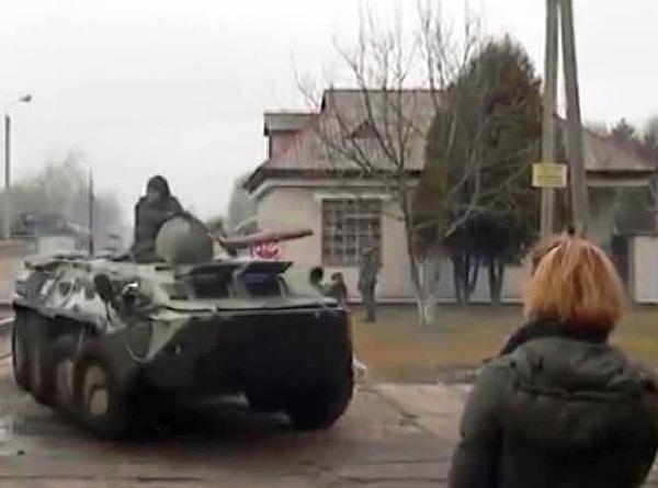 Украинские войска движутся к Крыму
