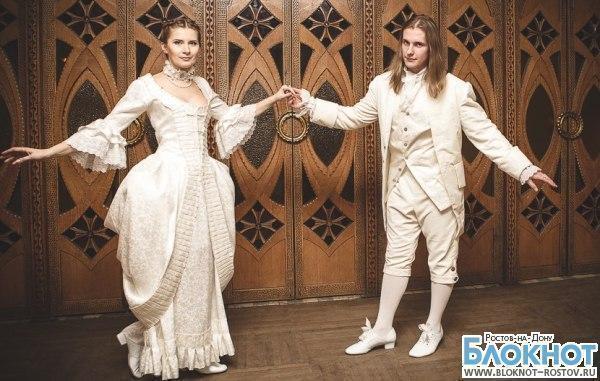 Ростовчане сыграли свадьбу в исторических костюмах
