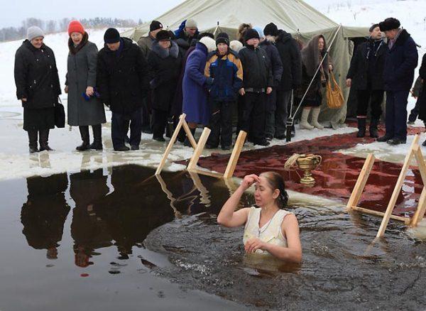 В Ростовской области на Крещение будет открыто почти 100 купелей