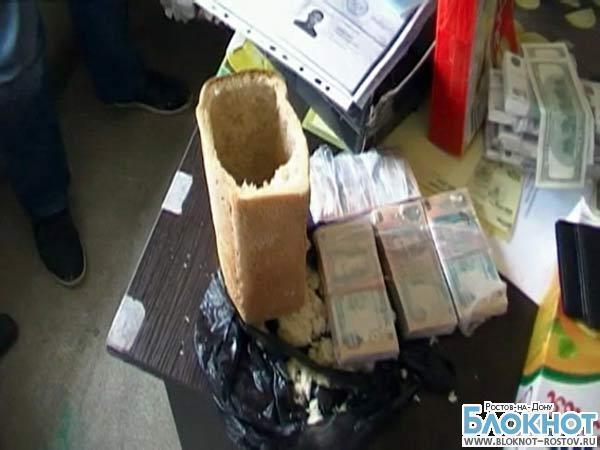 В Ростовской области фальшивомонетчики перевозили поддельные деньги в хлебе