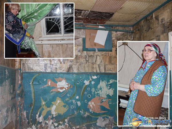 В Ростовской области пенсионерки 14 лет живут в заброшенной воинской части Минобороны