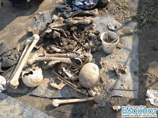 Останки нескольких десятков немецких солдат найдены в Ростовской области
