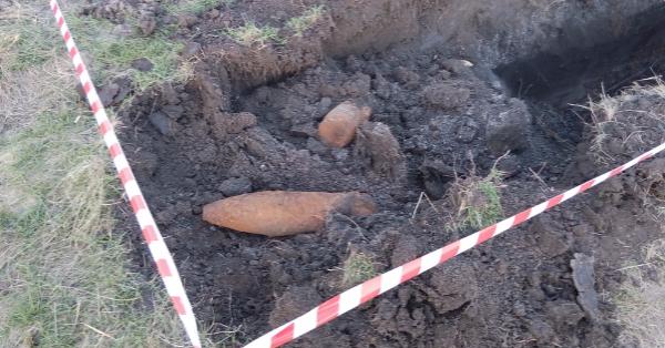 Две бомбы времен ВОВ нашли около стройки ростовского аэропорта