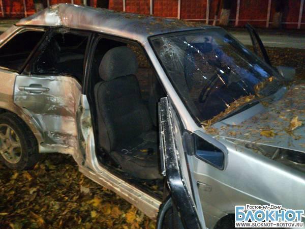 В Новочеркасске «ВАЗ» врезался в микроавтобус со спортсменами из Краснодара
