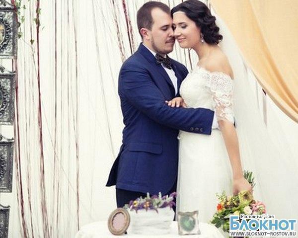 Победители конкурса «Свадьба в подарок» Саша и Алиса стали мужем и женой