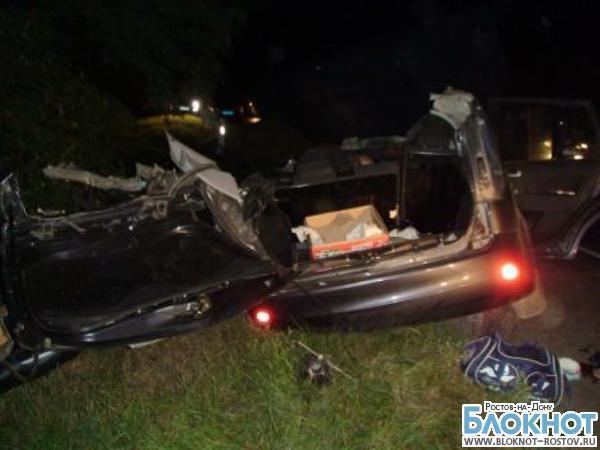 В Ростовской области в аварии погибла молодая семья и двухлетний ребенок