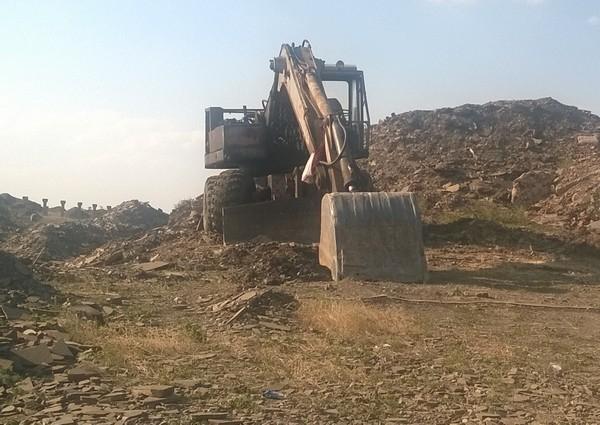 В Ростовской области незаконные добытчики камня уничтожают земли крестьян