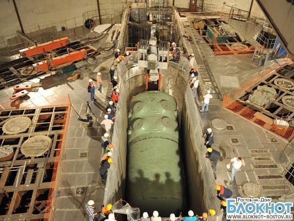 На третьем энергоблоке Ростовской АЭС начали устанавливать реактор