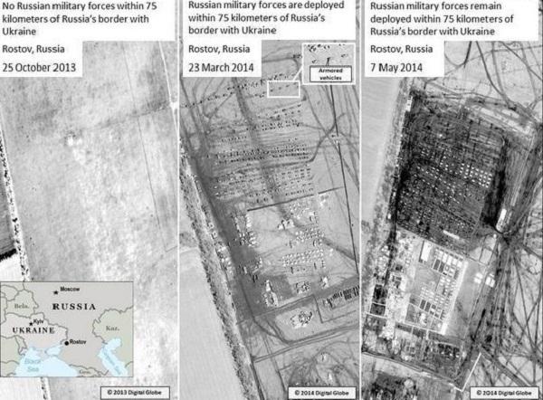 НАТО выложило в сеть новые фото российских войск в Ростовской области на границе с Украиной