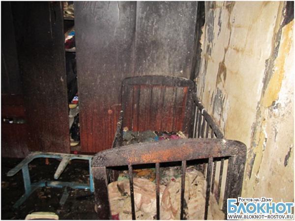 Трое детей заживо сгорели на пожаре в Новошахтинске по вине матери
