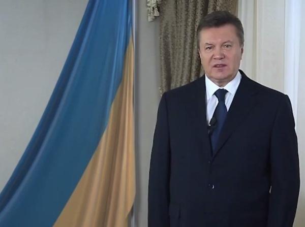 Бывший президент Украины Виктор Янукович записал в Ростове видеообращение