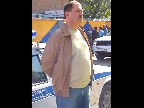 Очевидцы сняли на видео пьяного ростовского чиновника, сбившего профессора ЮФУ