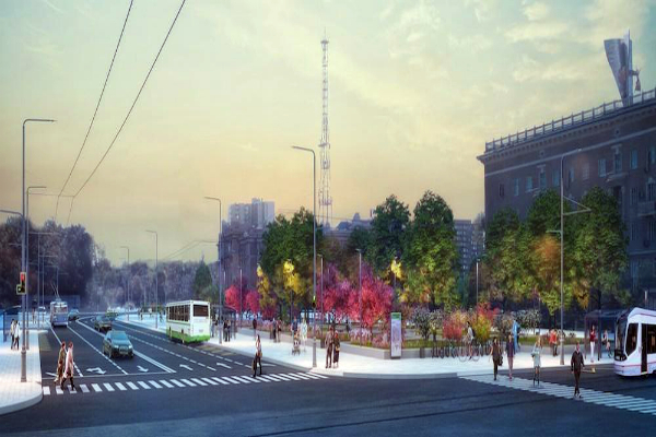 Ростовчанам показали первые эскизы обновленных городских парков и Театральной площади