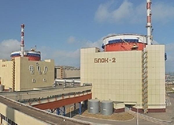 На Ростовской АЭС включен в сеть энергоблок № 2