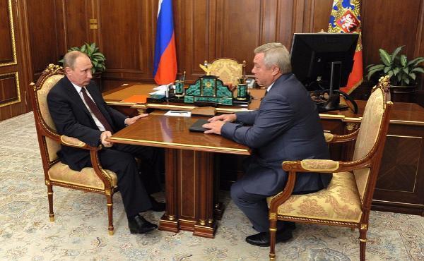 Губернатор Василий Голубев встретился в Кремле с Владимиром Путиным