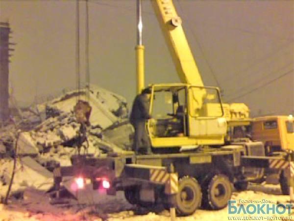Первое видео с места обрушения дома в Таганроге