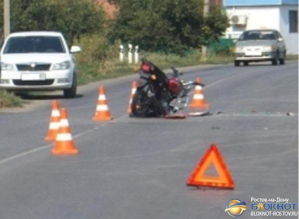 В Зернограде иномарка насмерть сбила 17-летнего водителя мопеда