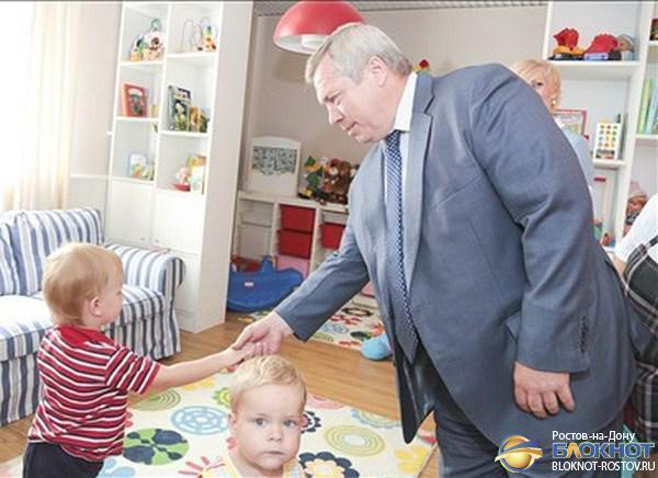 Василий Голубев: Перед нами стоит амбициозная задача – решить проблему очередей в детсады к 2015 году