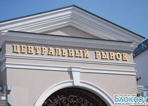 В Ростове во время рейда на Центральном рынке сняли отпечатки у 250 работников