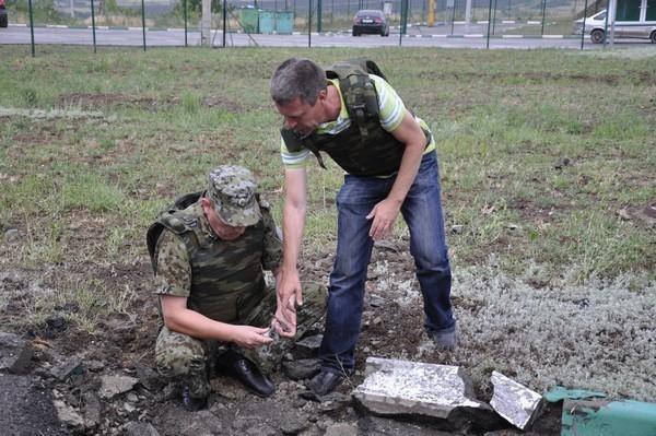 Руководитель пресс-службы Погрануправления ФСБ по РО получил травму, эвакуируя украинских беженцев