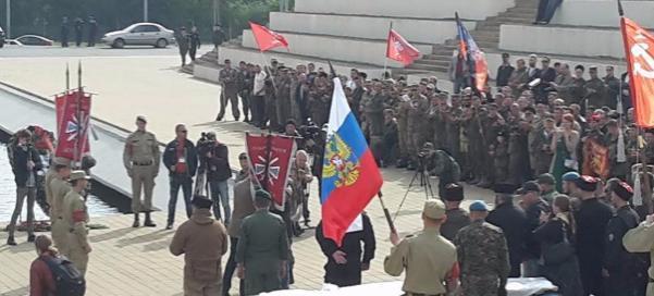 Добровольцы Донбасса приехали в Ростов на съезд Союза
