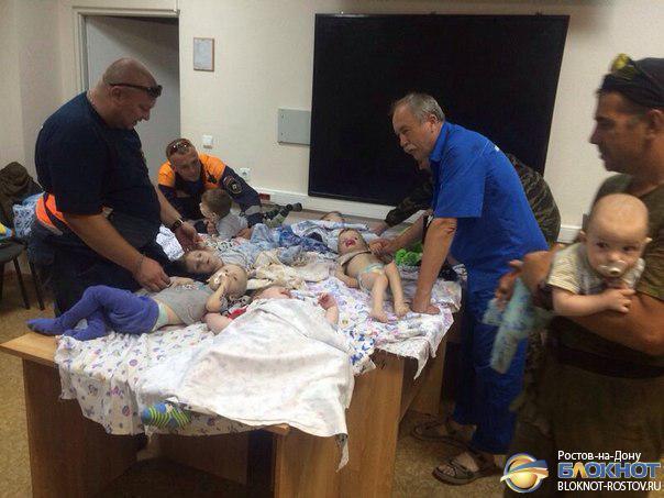 Из Луганска в Ростовскую область вывезли семь малышей, больных ДЦП