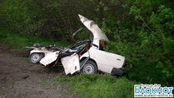 В Ростовской области БТР раздавил ВАЗ-2105 с людьми: 2 погибших