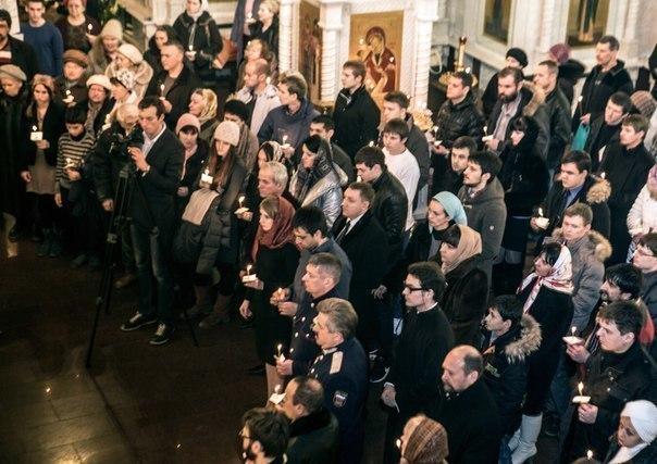 В Ростове прошла панихида по погибшим в волгоградских терактах