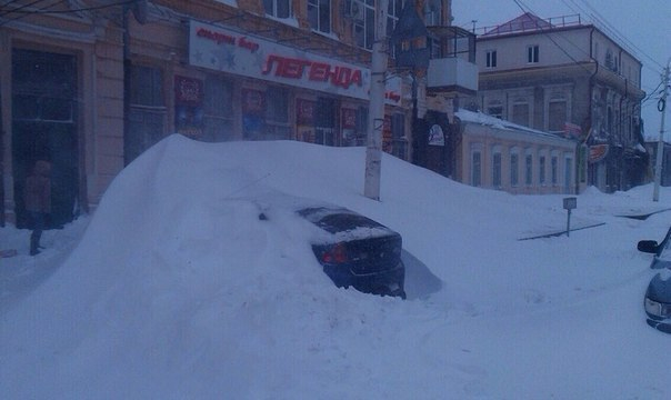 Ростов-на-Дону в снегу глазами горожан: фото, снятое дончанами
